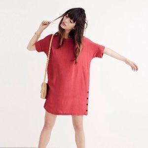 Madewell Journal Side Button Dress
